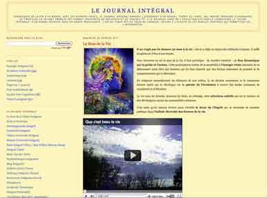 Le journal intégral: une réflexion au service de l'évolution du monde